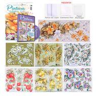 kit de artesanato de pintura adesivada