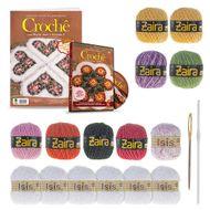 kit de artesanato de croche