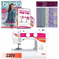 Kit-Maquina-de-Costura-1000-Sew-Fun-Elna---Manual-em-DVD_17439_1