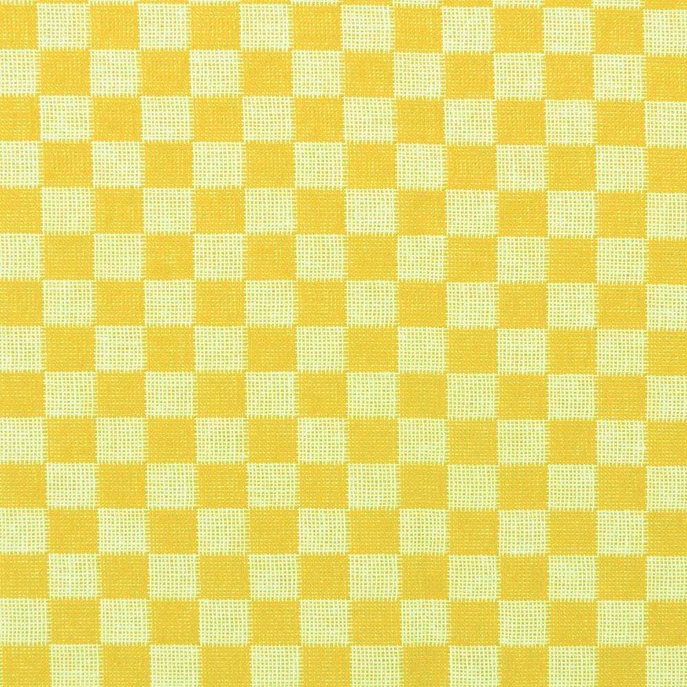 f529574d89e33a Tecido Xadrez para Bordar Amarelo 100x140cm Vitrine do Artesanato ...