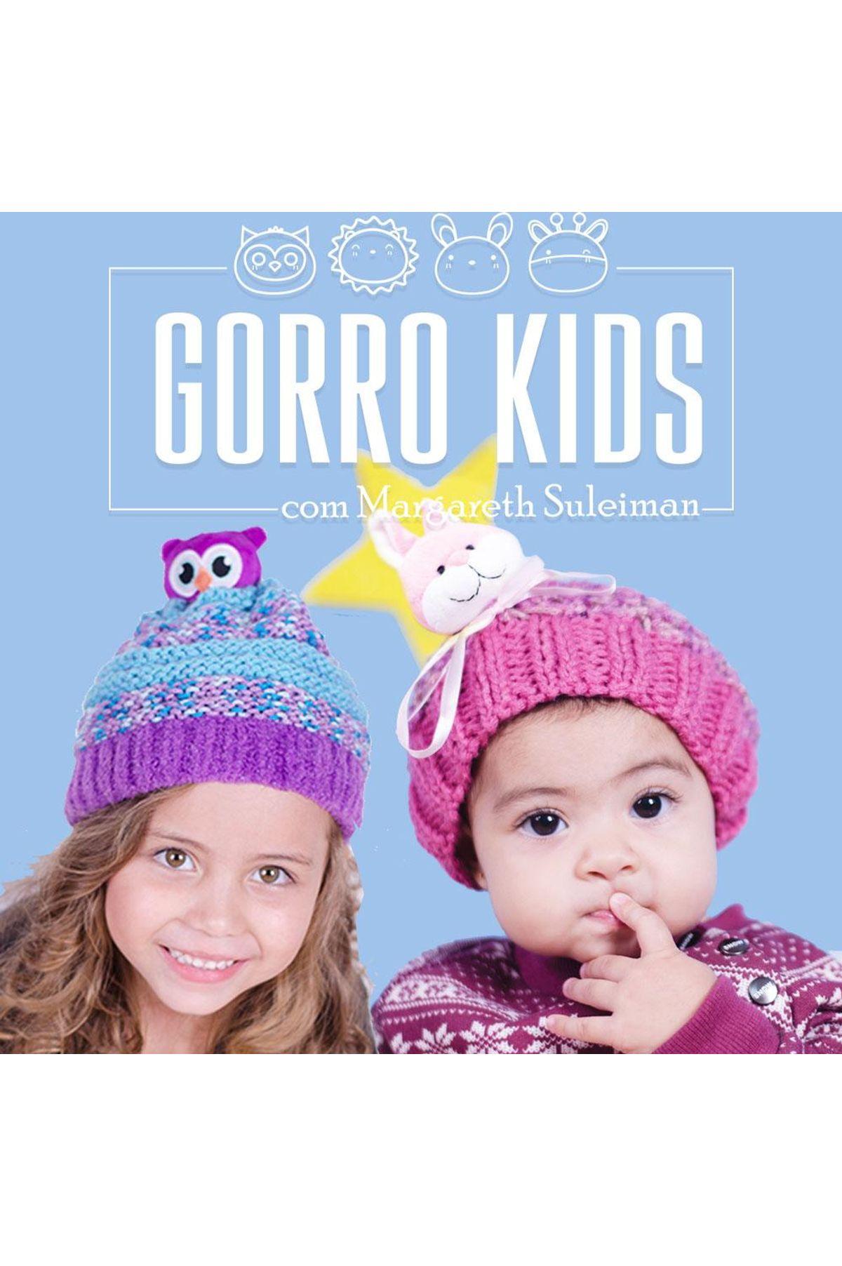 Curso Online Gorro Kids com Margareth Suleiman Vitrine do Artesanato ... ebddeeab1a0