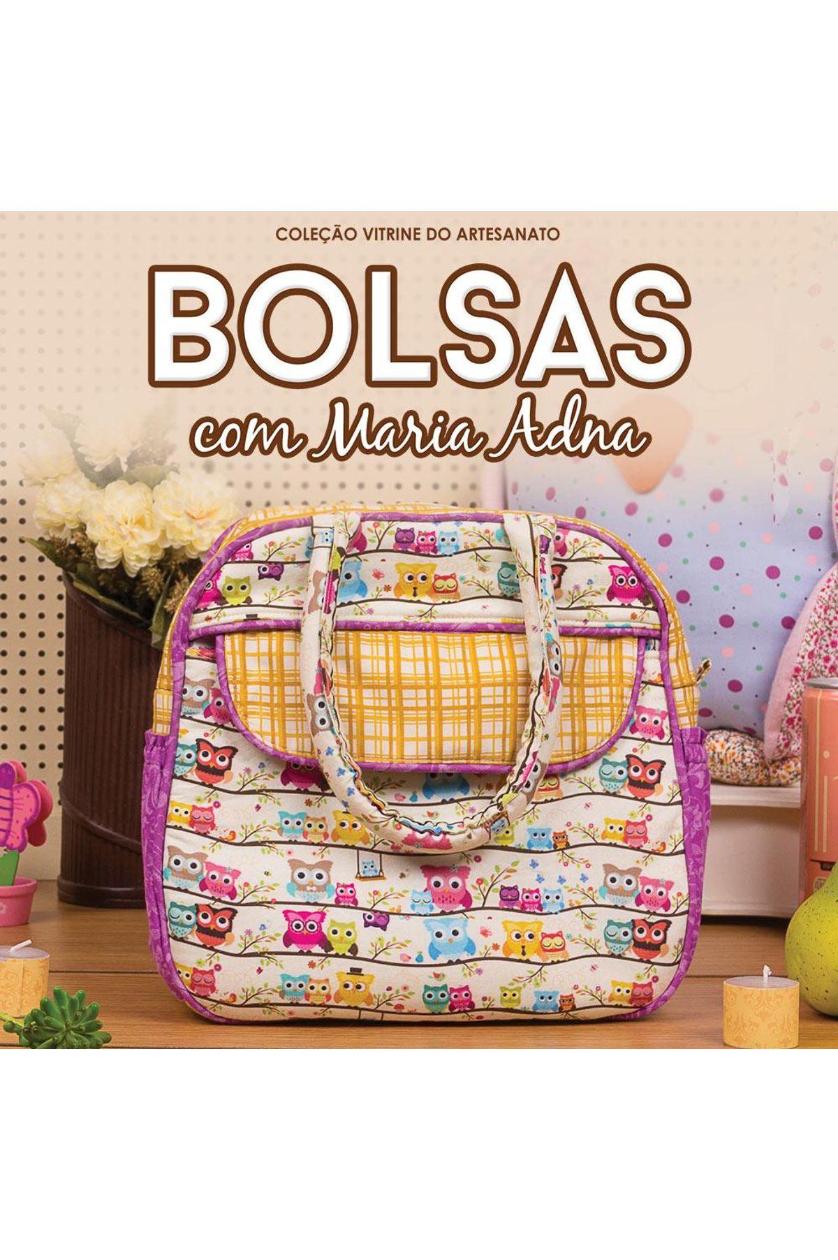 1162a9933 Curso Online Bolsas com Maria Adna Vitrine do Artesanato ...