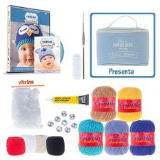 Kit Crochê Bebê Especial Bichinhos com Denise Lopes