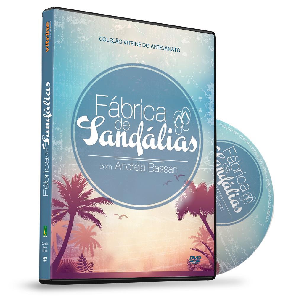 5e866ca9c9c8e5 Curso em DVD Fábrica de Sandálias com Andréia Bassan Vitrine do ...