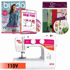 019167_1_Kit-Maquina-de-Costura-1000-Sew-Fun-Elna---Manual-em-DVD