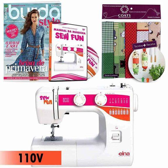 019167_1_Kit-Maquina-de-Costura-1000-Sew-Fun-Elna---Manual-em-DVD